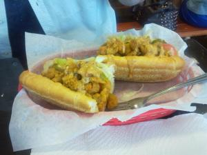Crawfish Po'boy